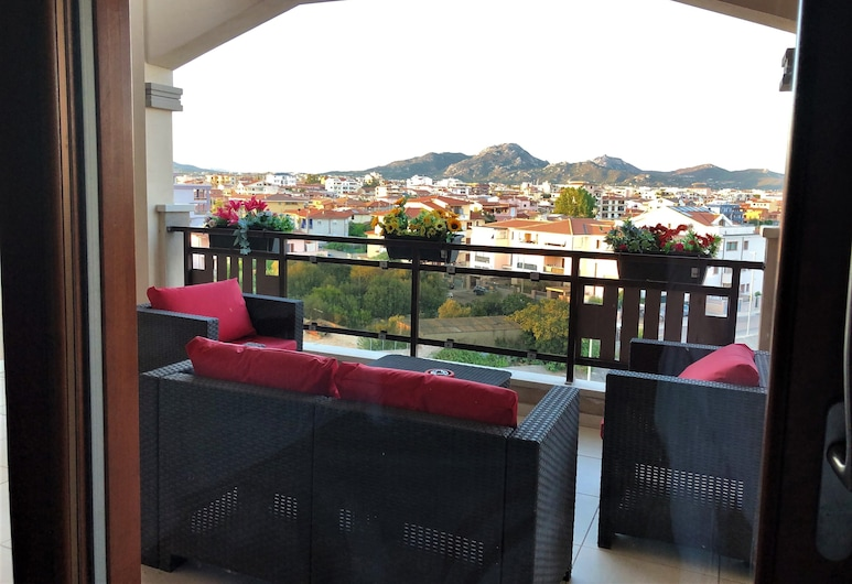 La Piazzetta Guest House, Olbia, Deluxe-Doppelzimmer, 1 Queen-Bett, Balkon, Zimmer
