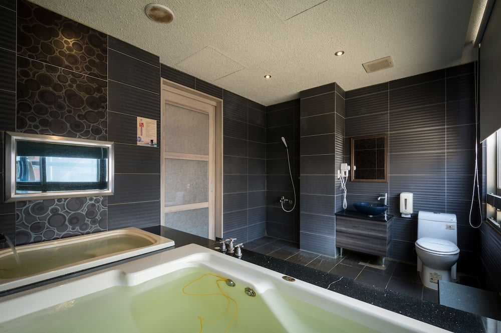 Habitación cuádruple familiar, 2 camas dobles - Cuarto de baño