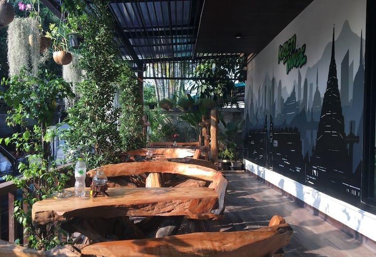 Kristi House, Chiang Mai, Terrasse/Patio