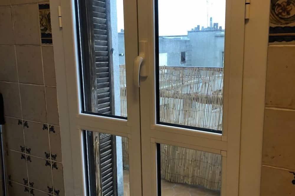 Premium-Apartment, mit Bad - Blick vom Balkon