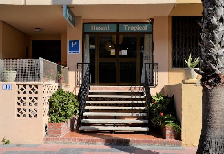 Pensión Tropical, Almunecar, Hotel Entrance
