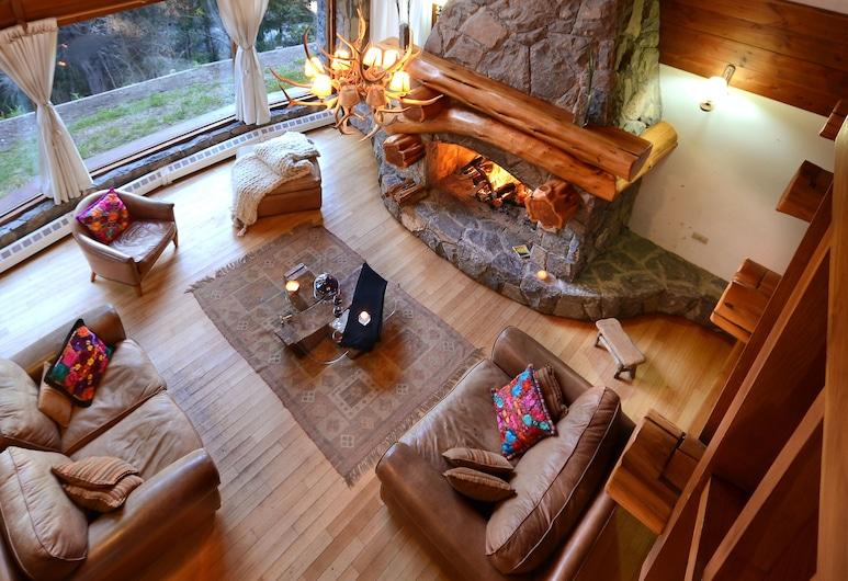 Amazing 4 Bedroom Chalet Villa Traful VT1, Villa Traful, Chalet, 4 Bedrooms, Living Area