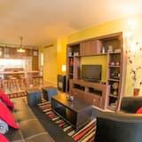 Apartamento Comfort, 3 Quartos, 2 Casas de Banho - Sala de Estar