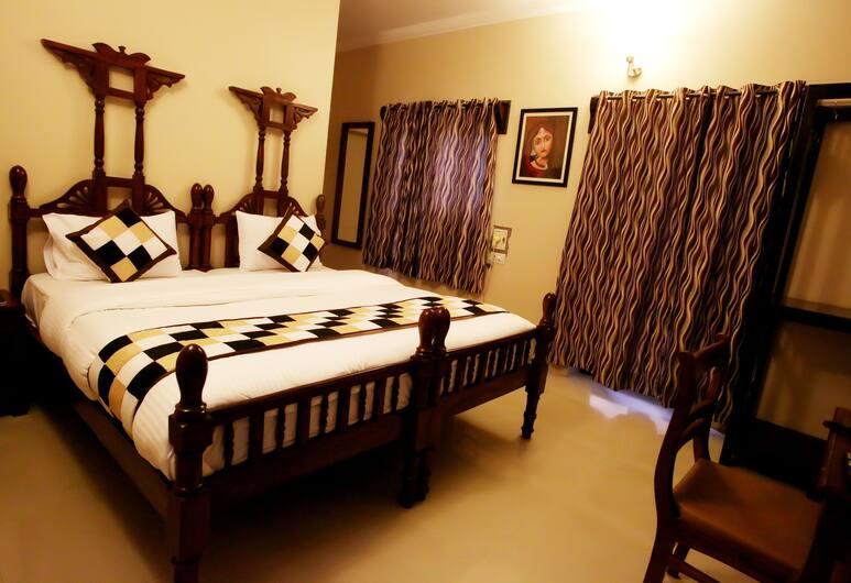 Hotel Ajit Mansion, Jodhpur, Deluxe kamer, 1 slaapkamer, Kamer