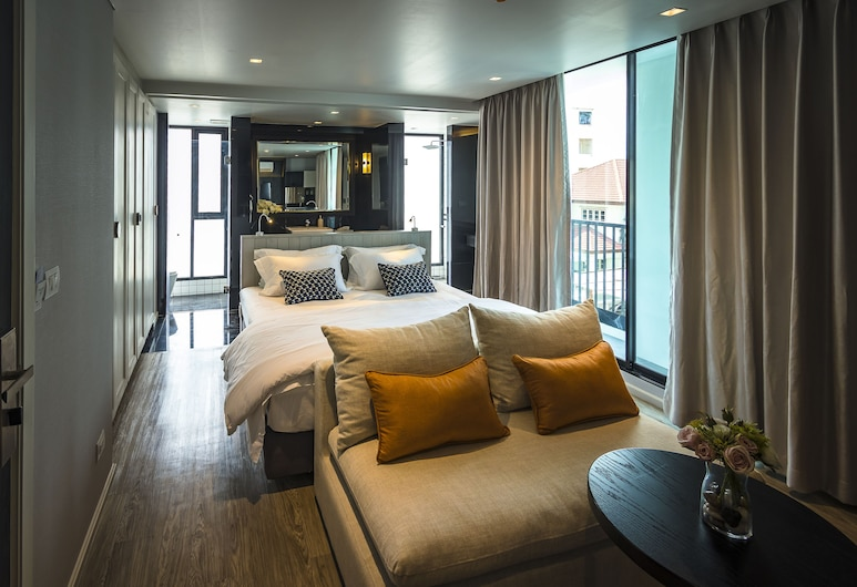 Apartelle Jatujak Hotel, Bangkok, Executive Modern Room, Utsikt mot byen