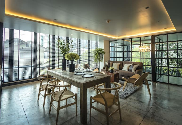 아파텔 자투작 호텔, 방콕, 로비 라운지
