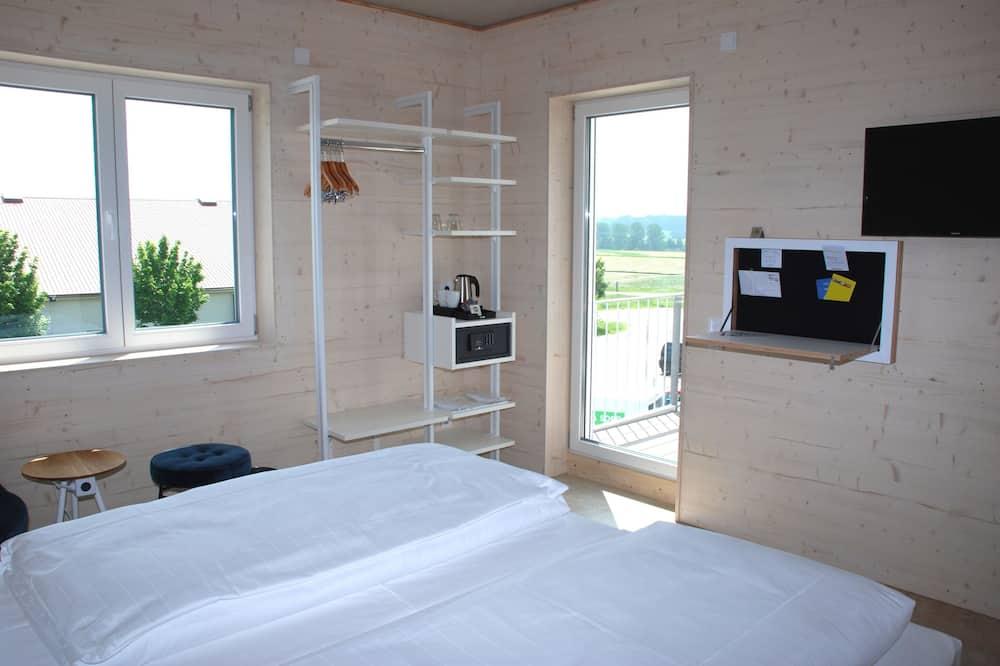 Double Room Single Use, Balcony - Bathroom