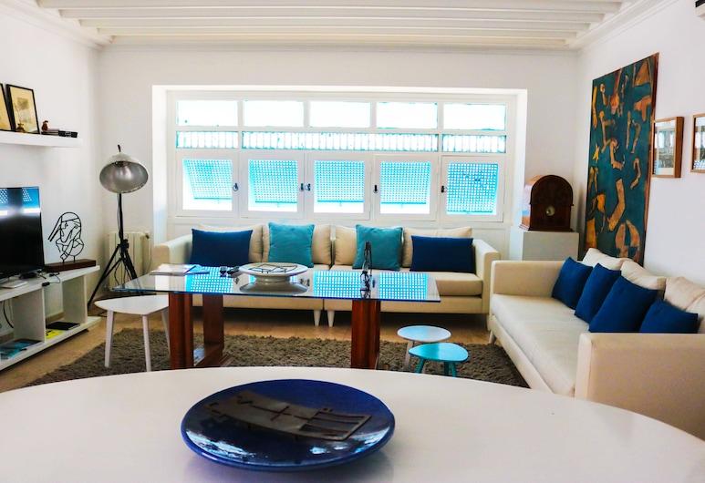 藝術家宅邸酒店, 西迪布賽德, 公寓, 客廳