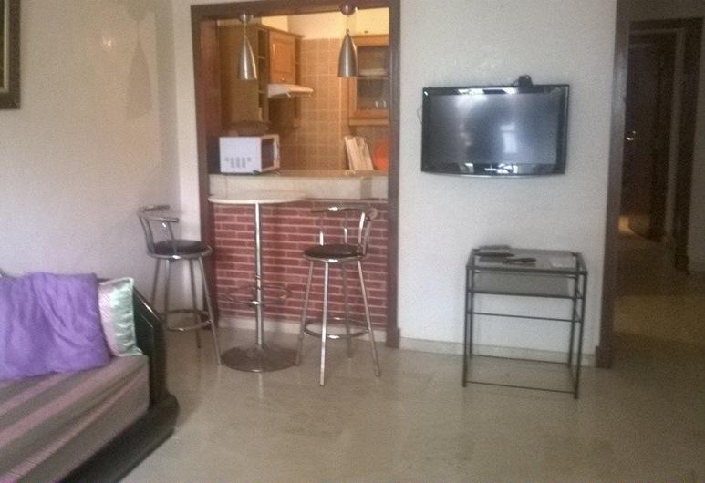 アパルトマン アジュール, アガディール, アパートメント 1 ベッドルーム, リビング エリア