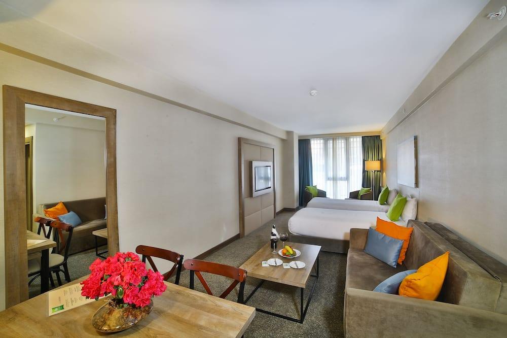 Rodinný apartmán, 2 dvojlôžka - Stravovanie v izbe