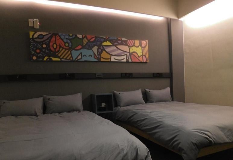 Haus Inn, Taitung, Čtyřlůžkový pokoj, Pokoj