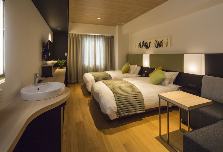 Hotel Vista Hiroshima, Hiroshima, Superior Twin Room, Non Smoking (for 1 Guest) [with Special Jacuzzi] [27 sqm], Guest Room
