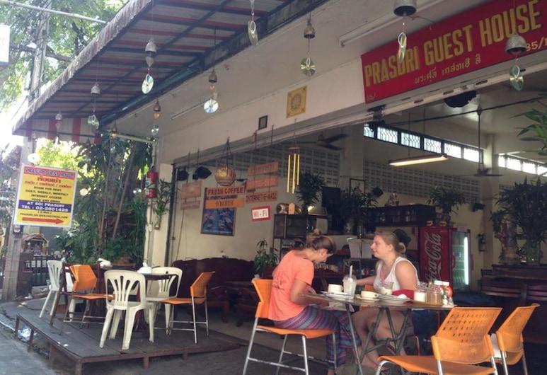 Prasuri Guest House, Bankokas, Terasa / vidinis kiemas