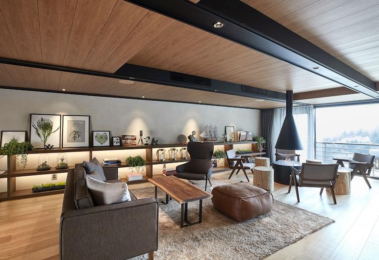Walkerhill Douglas House, Seúl, Sala de estar en el lobby
