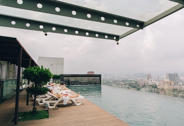 頂級套房附天空泳池酒店, 吉隆坡, 室外泳池
