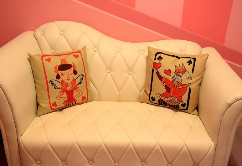 We Love B&B, Đài Nam, Phòng dành cho gia đình (Pink Babi), Phòng
