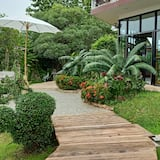 經典單棟房屋, 1 張加大雙人床, 露台, 庭園 - 園景