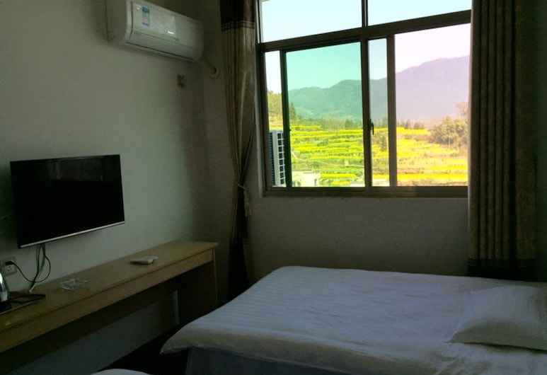 Wuyuan Jiangling View Inn, Shangrao, Standard Twin Room with Mountain View, Guest Room