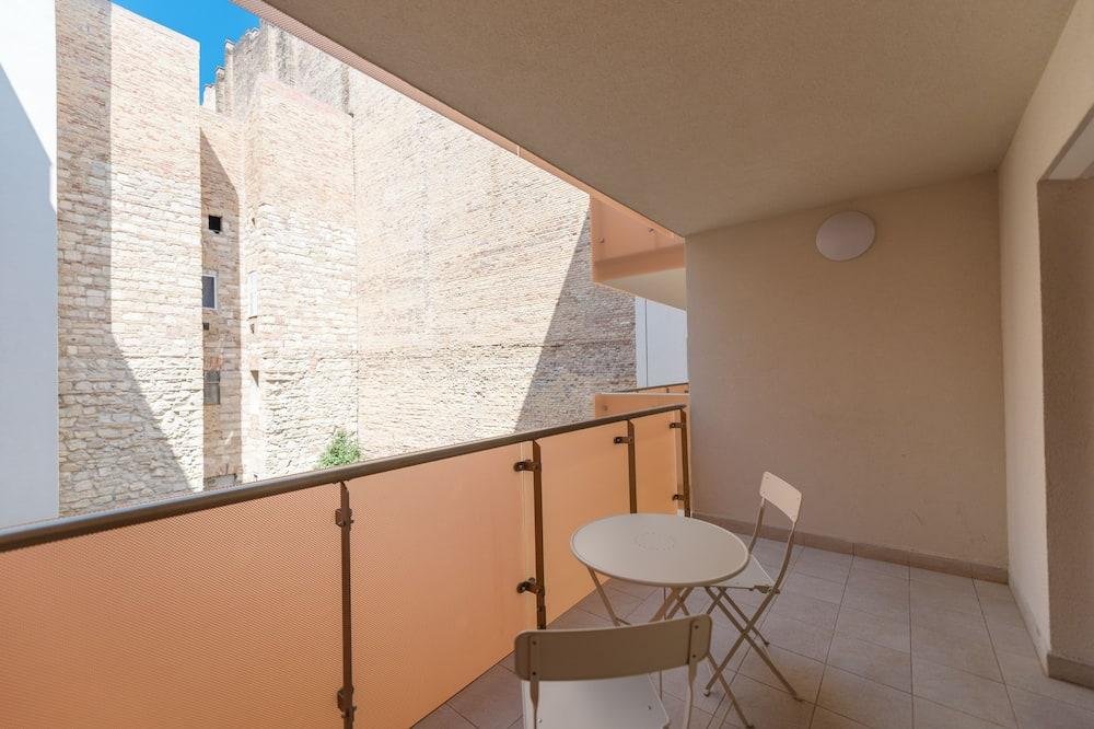 Estudio Deluxe, 1 cama Queen size, vista al patio - Balcón