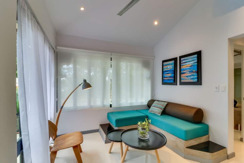 คลาสสิกอพาร์ทเมนท์, 2 ห้องนอน, ปลอดบุหรี่ - พื้นที่นั่งเล่น