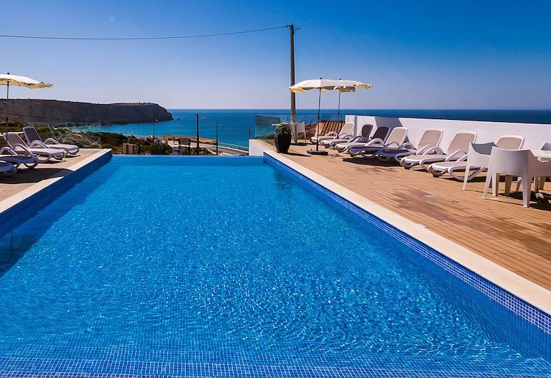 Mareta Beach House, Sagres, Výhled z hotelu
