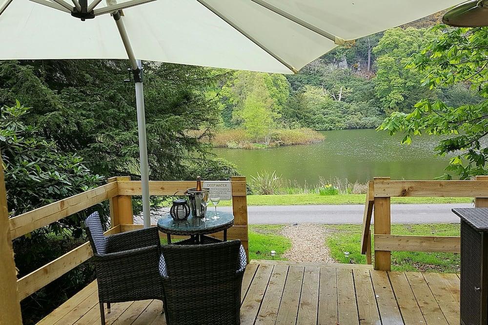 Tienda de campaña/carpa de lujo, 1 cama King size, vista al lago (Swan) - Habitación