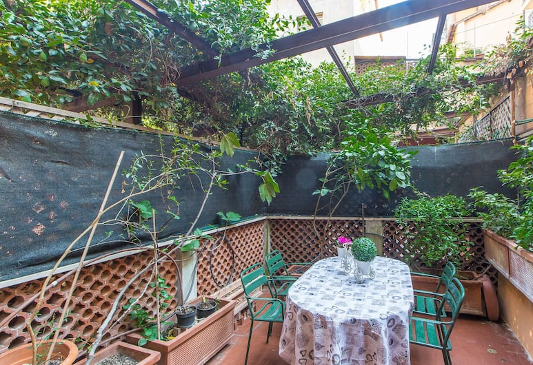 Rental In Rome Corso Suite Terrace, Rome, Apartment, 1 Bedroom, Terrace/Patio