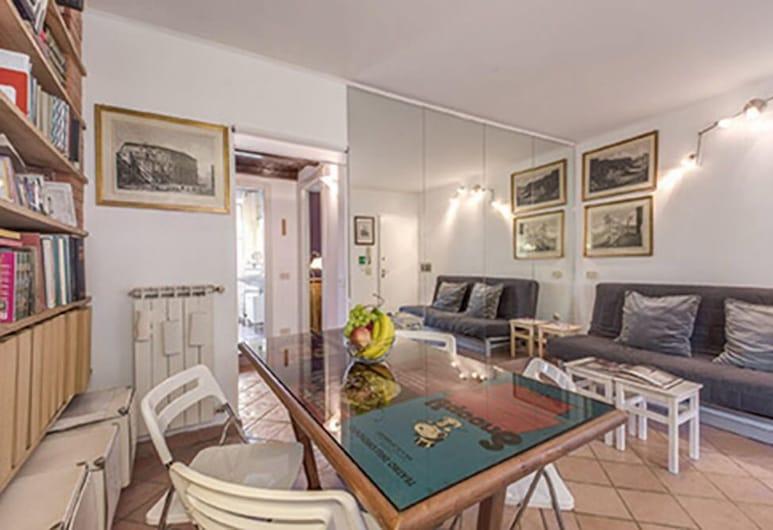 鬥獸場一箭之遙酒店, 羅馬, 公寓, 1 間臥室, 客廳