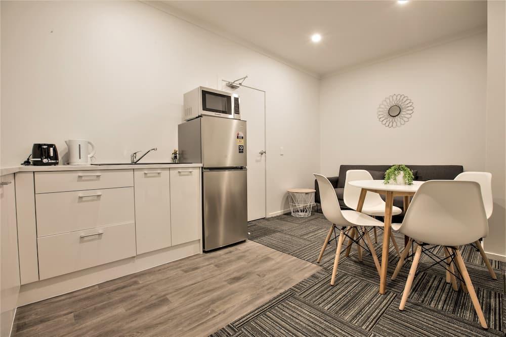 Traditional-Apartment, 2Schlafzimmer, eigenes Bad, Erdgeschoss - Wohnbereich
