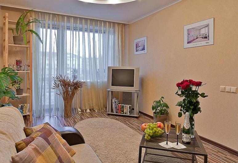 Apartamenty na Yakuba Kolasa, Minsk, Standard-Apartment, 1 Schlafzimmer (Prospect Nezavisimosti, 52), Zimmer