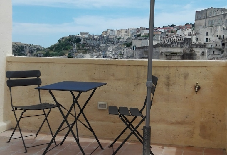 Le Tre Vie Apartment & Room, Matera, Exclusive Room, Balcony, City View, Terrace/Patio