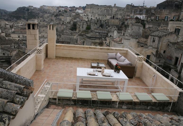 Le Tre Vie Apartment & Room, Matera, Terras