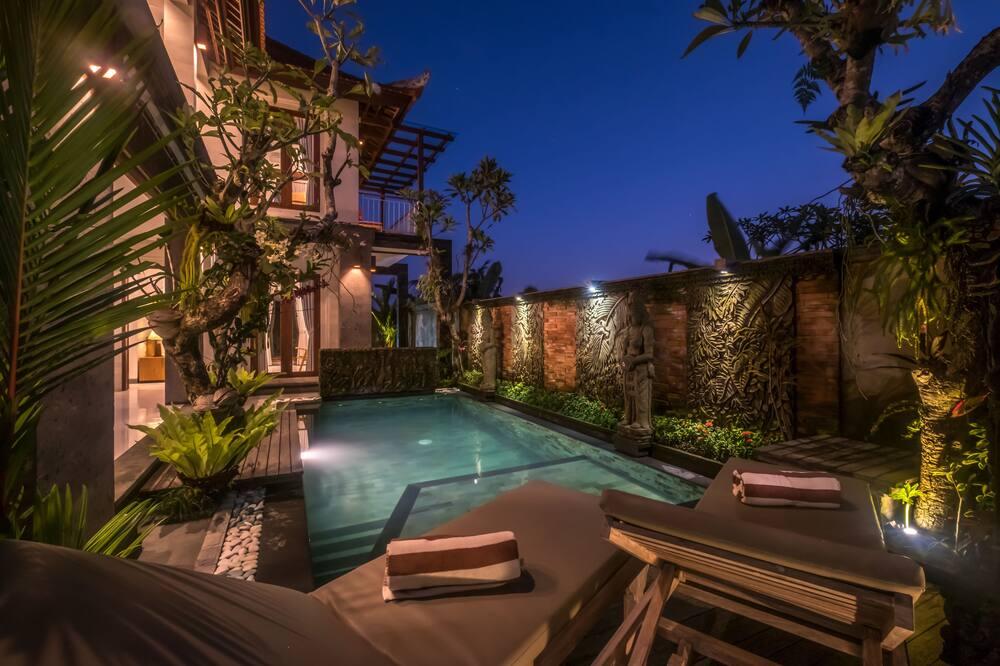 Villa, 1 Bedroom, Pool View - Pemandangan dari bilik