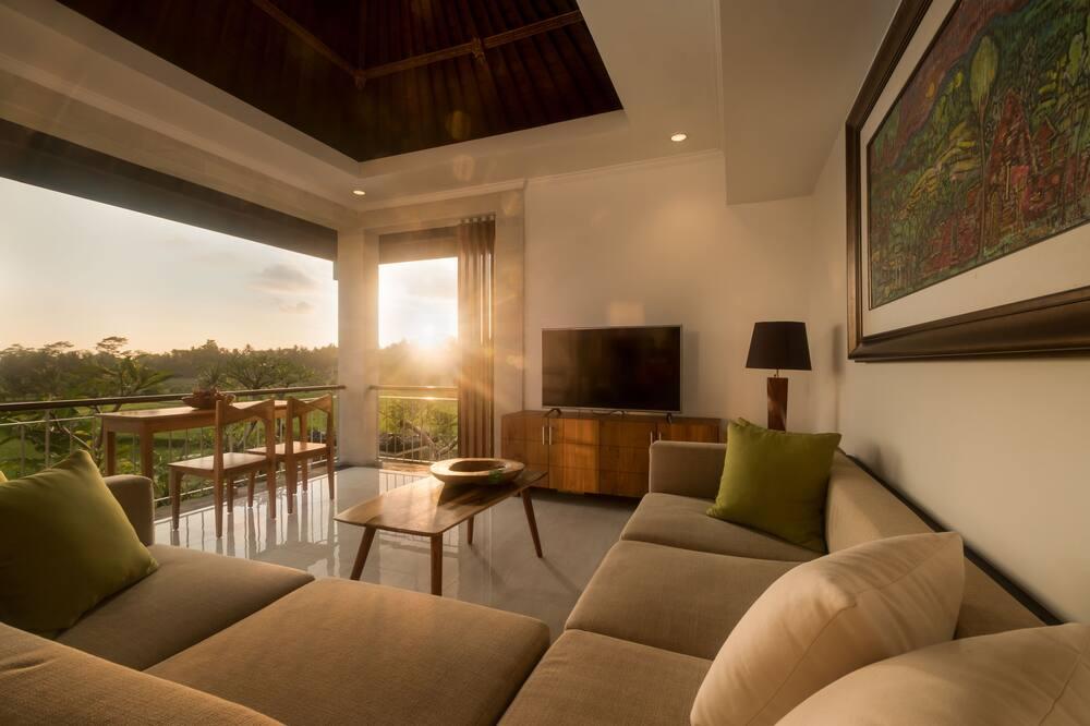 Villa, 1 Bedroom, Pool View - Ruang Tamu