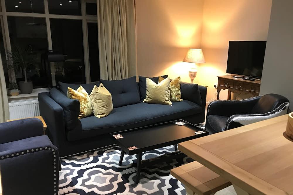 Perhehuvila, 3 makuuhuonetta - Olohuone