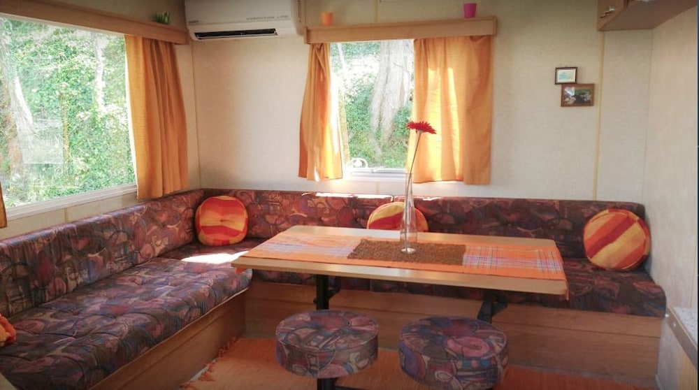 Camping Gabicce Monte Mare Classic Mobile Home Living Area