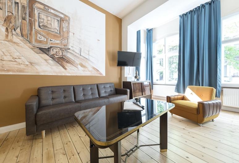 Primeflats - Apartments Halensee, Berlin, City-Apartment, 1King-Bett, Zimmer