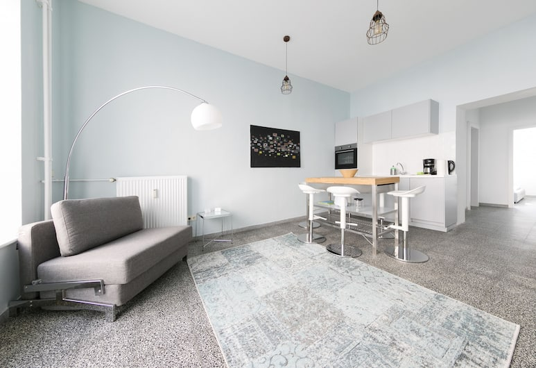 Primeflats - Apartment Weissensee, Berlín, Apartmán typu City, 1 extra veľké dvojlôžko, Izba