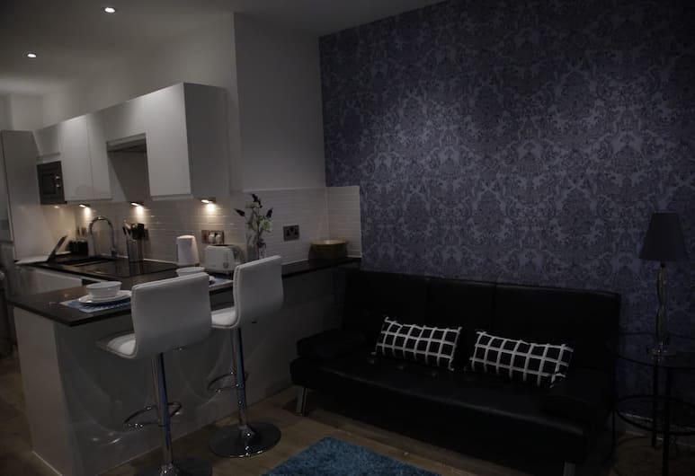 Shepherd Apartment, Reading, Apartmán typu Deluxe, 1 dvojlôžko, Obývačka