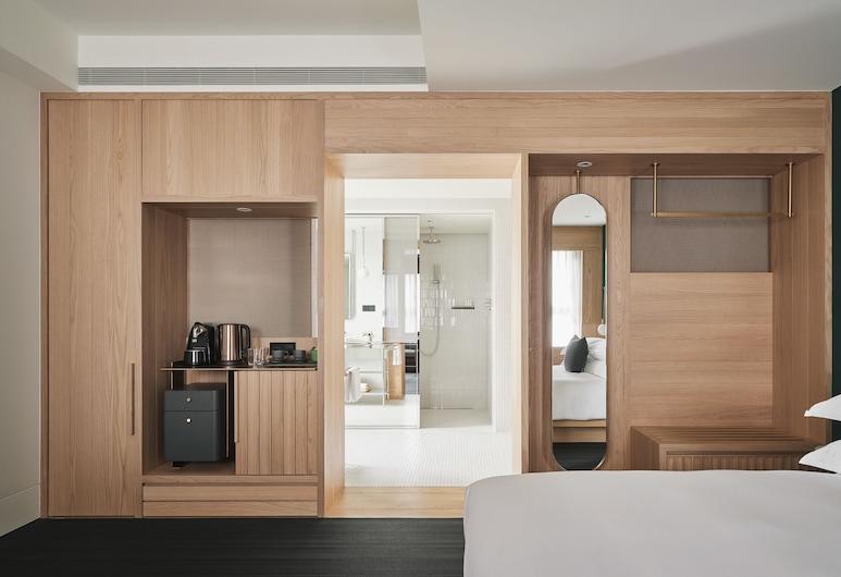 金普頓大安酒店, 台北市, 豪華客房, 1 張特大雙人床, 非吸煙房, 客房景觀
