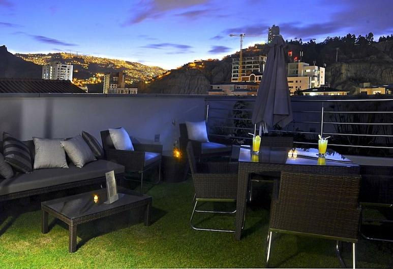 Hotel Rennova, La Paz, Terasa