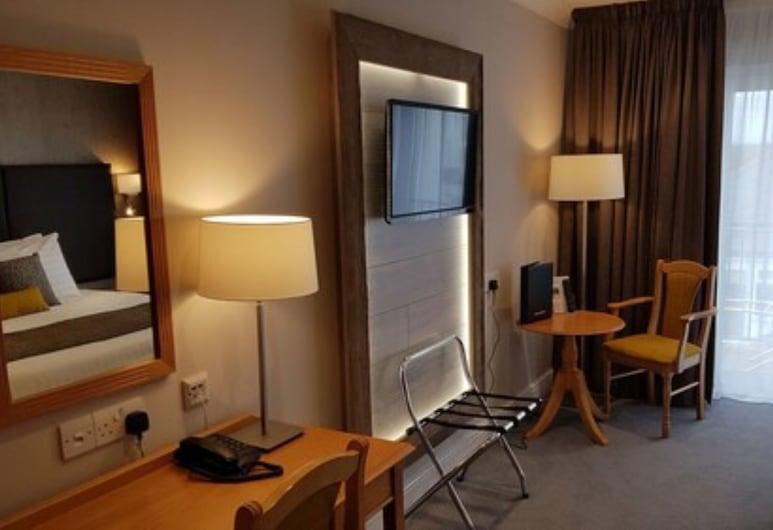 Heywood Spa Hotel, Tenby, Executive-værelse med dobbeltseng eller 2 enkeltsenge, Værelse
