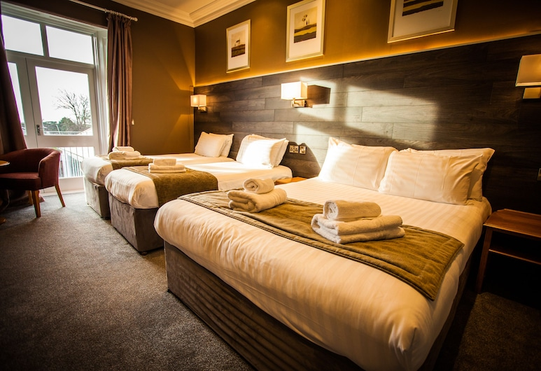 Heywood Spa Hotel, Tenby, Familjerum, Gästrum