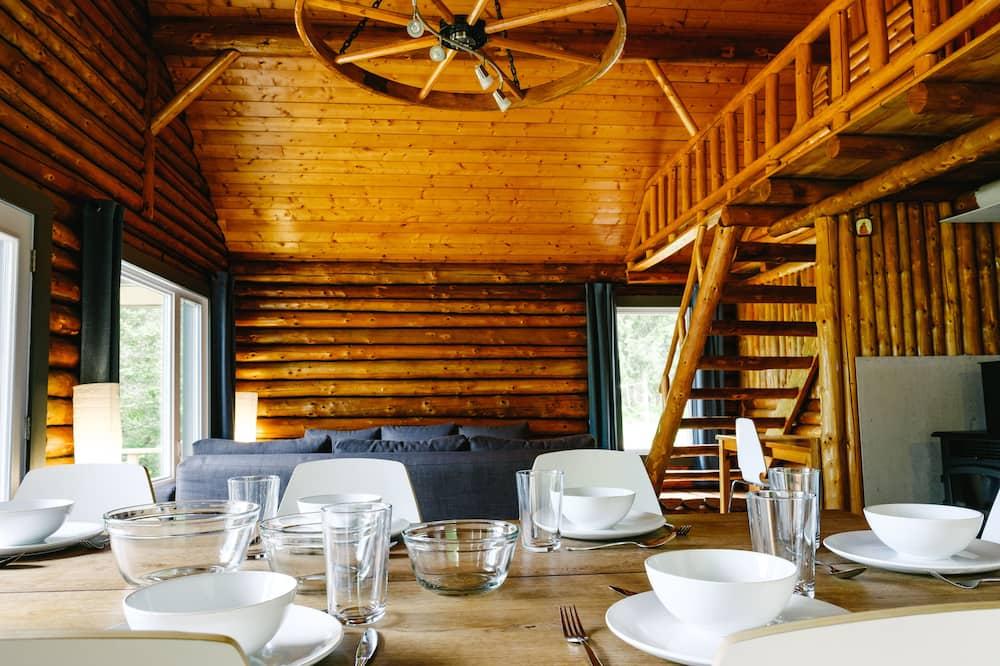 Chalet, Mehrere Betten, Küche - Zimmer