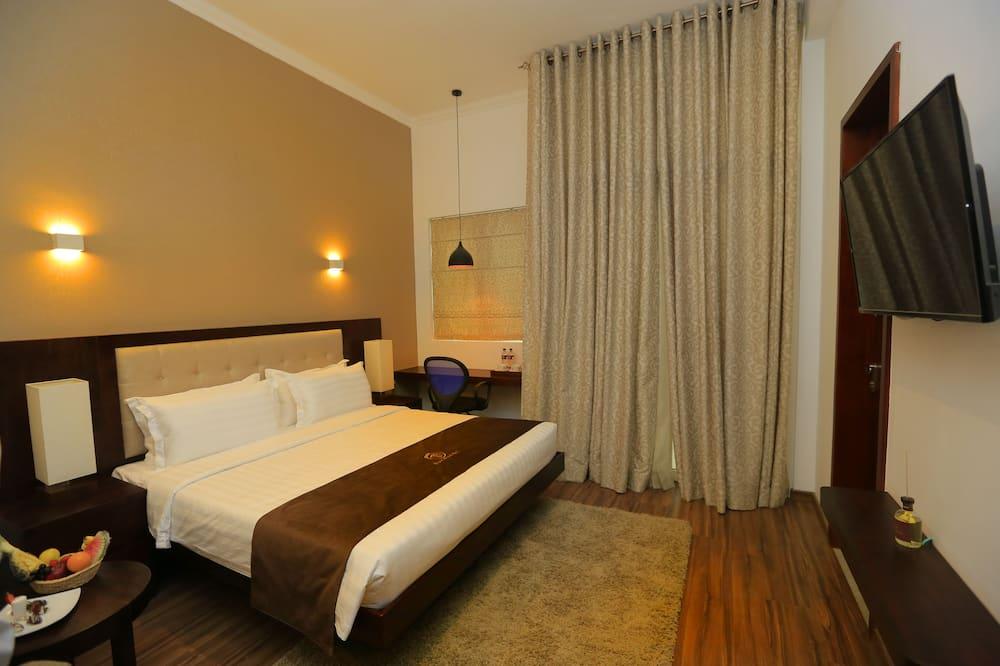 Doppia Standard, 1 letto king, lato giardino - Bagno