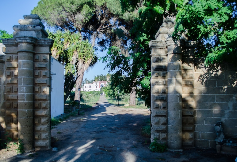 Agriturismo Capani, Alezio, Entrada del hotel