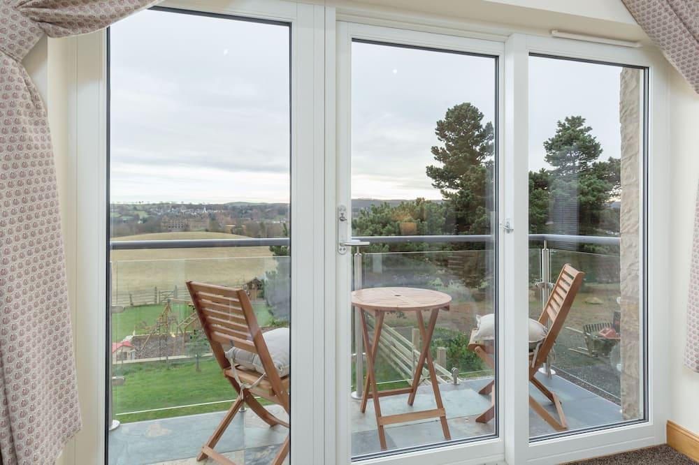 Pokój dwuosobowy typu Superior, Łóżko king, balkon, widok na ogród - Balkon