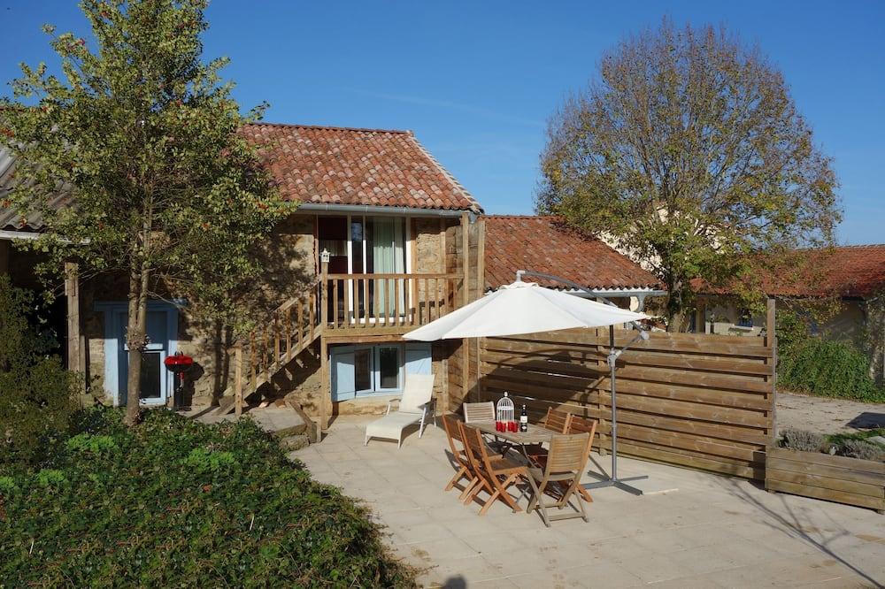 Ferienhaus (Rose) - Terrasse/Patio