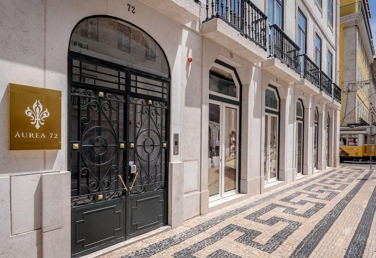 Residentas Aurea, Λισσαβώνα, Είσοδος καταλύματος