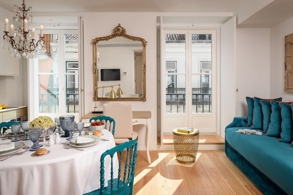 Apartamento clásico, 1 habitación - Zona de estar